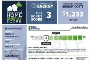 The Home Energy Score!